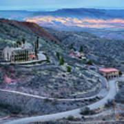 Sunset View From Jerome Arizona Art Print