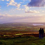 Sunsets Over The Irish Midlands Art Print