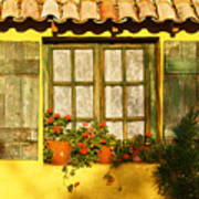 Sunshine And Shutters Art Print