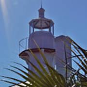 Sunshine At The Lighthouse Art Print