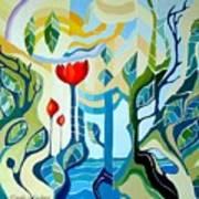 Sunshine Art Print by Carola Ann-Margret Forsberg
