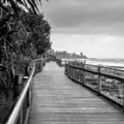 Sunshine Coast Boardwalk  Art Print