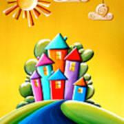 Sunshine Day Art Print by Cindy Thornton