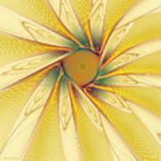 Sunshine Flower Art Print