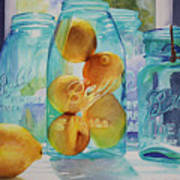 Sunshine In A Jar Art Print