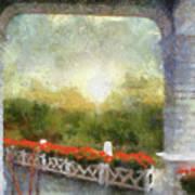 Sunshine On The Grand Hotel Mackinac Island Michigan Pa 01 Art Print