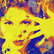 Super-girl. Art Print
