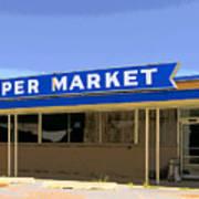 Super Market Art Print