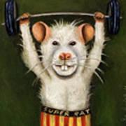 Super Rat Art Print