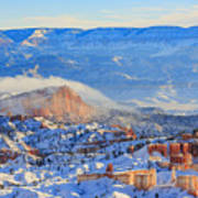 Superb View Of Sunset Point, Bryce Canyon National Park Art Print