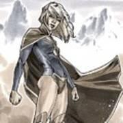 Supergirl Art Print