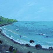 Superior Coast 1 Art Print