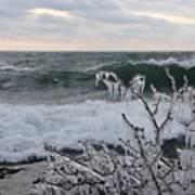 Superior January Waves Art Print