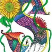Superior Swan Art Print