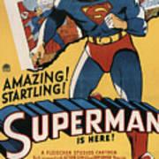 Superman, 1941 Art Print by Everett