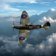 Supermarine Spitfire Vb Art Print