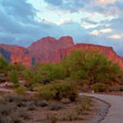 Superstition Mountains Arizona Art Print