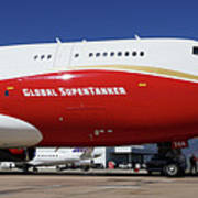 Supertanker At Colorado Springs Art Print