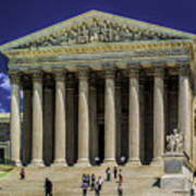 Supreme Court Of The United States Art Print