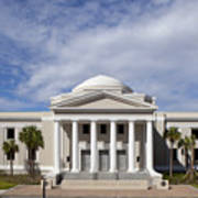 Supreme Courthouse In Tallahassee Florida Art Print
