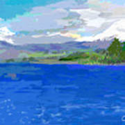 Sur De Chile Encanto Art Print by Carlos Camus
