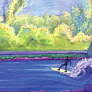 Surf Colorado Art Print