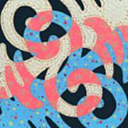 Surf Dance Art Print