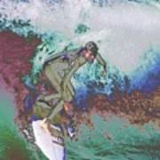 Surfer 3 Art Print
