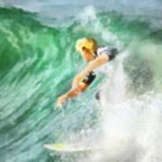 Surfer 46 Art Print