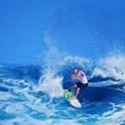 Surfer Charles Martin Art Print