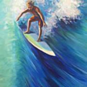 Surfer II Art Print