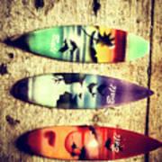 Surfers Parade Art Print