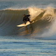 Surfing 80 Art Print