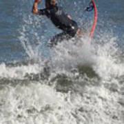 Surfing 92 Art Print