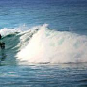 Surfing Asilomar Art Print