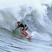Surfing Bogue Banks 3 Art Print