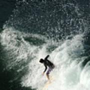 Surfing Hawaii 4 Art Print