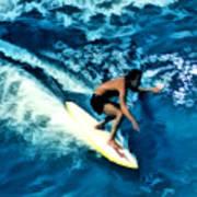 Surfing Legends 12 Art Print