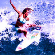 Surfing Legends 6 Art Print