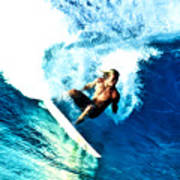 Surfing Legends 9 Art Print