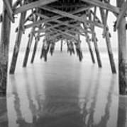 Surfside Pier Exposure Art Print