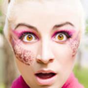 Surprised Face Art Print