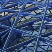 Surreal Dome Glass Art Print