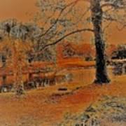 Surreal Langan Park 2 - Mobile Alabama Art Print