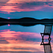 Surreal Sunset Print by Gert Lavsen