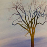 Surreal Tree No. 1 Art Print