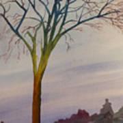 Surreal Tree No. 2 Art Print