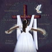 Surrender To Jesus Art Print