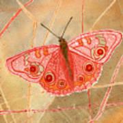 Survival Butterfly Art Print