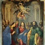 Sus Au Temple Art Print